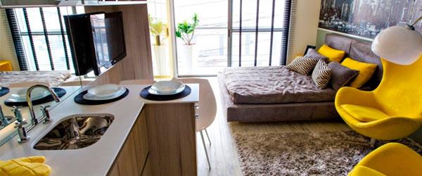 Apartamentos compactos são tendências em SP