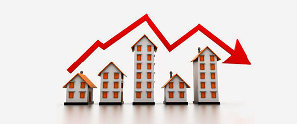 Preços de imóveis residenciais em queda no Brasil